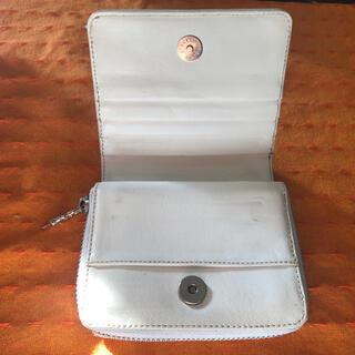 クロムハーツ(Chrome Hearts)のクロムハーツ  スクエアジップビル 確認用①(折り財布)