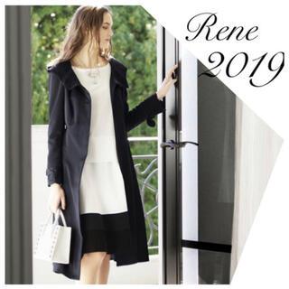 ルネ(René)のakr0416r様ご専用 Rene♡ 2019年DM掲載 レースフード付きコート(スプリングコート)