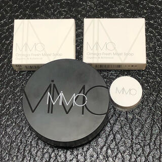 エムアイエムシー(MiMC)のMiMC ミネラルリキッドリーファンデーション ソープ&バーム付き(ファンデーション)