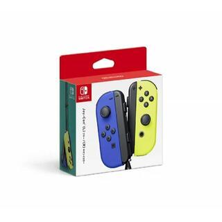ニンテンドースイッチ(Nintendo Switch)のNSW Joy-Con(L)ブルー/(R)ネオンイエロー(周辺機器) (携帯用ゲームソフト)