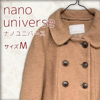 ナノユニバース(nano・universe)の【 nanouniverse 】 ナノユニバース コート ブラウン 38(M)(ピーコート)