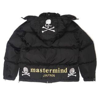 マスターマインドジャパン(mastermind JAPAN)のmastermind JAPAN MMJ ブラック 刺繍 ジャケット サイズ L(ダウンジャケット)