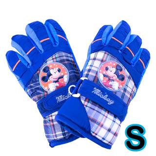 ディズニー(Disney)の再入荷! ミッキー  手袋 S キッズ 子供 男の子 防水 スキー 園児(手袋)