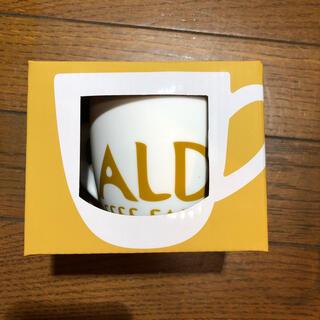 カルディ(KALDI)のKALDI マグカップ2個とエコバッグ1個(グラス/カップ)