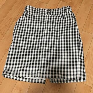 レイカズン(RayCassin)のギンガムチェック  スカート jijiさん専用(ひざ丈スカート)