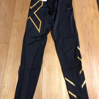 2XU  メンズ ロングパンツ  Mサイズ gold(レギンス/スパッツ)
