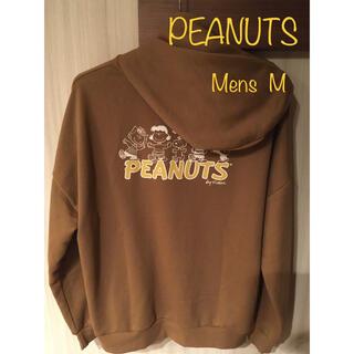 ピーナッツ(PEANUTS)のスヌーピー スウェットパーカー フロント刺繍(パーカー)