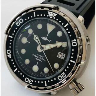セイコー(SEIKO)の腕時計 ダイバーズウォッチ SHARK ツナ缶 マリンマスター SBBN015(腕時計(アナログ))