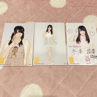 エスケーイーフォーティーエイト(SKE48)の木本花音 ポストカード(アイドルグッズ)