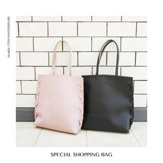 rienda - リエンダ ☆rienda☆ノベルティ☆バッグ☆ピンク!bag