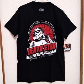 ディズニー(Disney)のスターウォーズ Tシャツ DEATH STAR 黒 ストームトルーパー(Tシャツ/カットソー(半袖/袖なし))