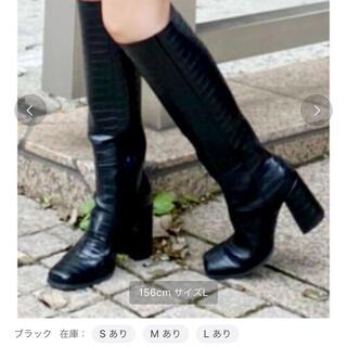 エヴリス(EVRIS)の☆も様専用☆エヴリス  evris スクエアトゥロングブーツ(ブーツ)