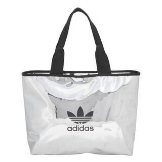 アディダス(adidas)のadidas original トートバッグ ショッパー シルバー(トートバッグ)
