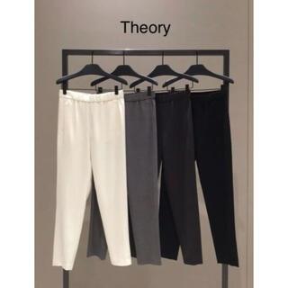セオリー(theory)のTheory ウエストゴム クロップドウールパンツ(クロップドパンツ)