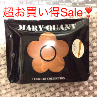 マリークワント(MARY QUANT)の【新品タグ付未開封】マリークワント💕タイツ 60デニール M~L フリーサイズ(タイツ/ストッキング)