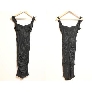 ニコルミラー(Nicole Miller)のNICOLE MILLER ニコルミラー ドレス ワンピース サンプル品(ひざ丈ワンピース)