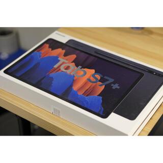 ギャラクシー(Galaxy)のGalaxy Tab S7+ 128GB ミスティックブラック(タブレット)