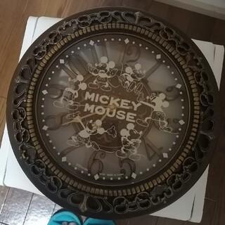 ディズニー(Disney)のミッキーマウス 時計(掛時計/柱時計)