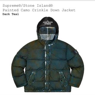 シュプリーム(Supreme)のサイズS supreme/STONE ISLAND Down Jacket(ダウンジャケット)