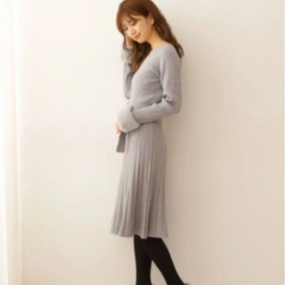 PROPORTION BODY DRESSING - (美品)プロポ ニットワンピース
