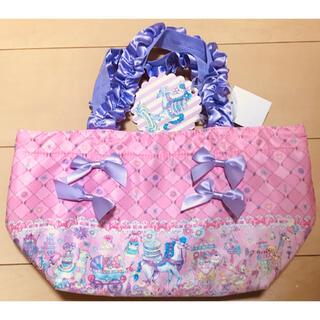 シマムラ(しまむら)のEKONECO エコネコ しまむらトート ピンク ユメカワ エコネコ バッグ(トートバッグ)