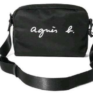 agnes b. - アニエスベー ショルダーバッグ ブラック