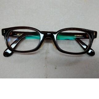 TENDERLOIN - TENDERLOIN  白山眼鏡 In The Wind 眼鏡 茶 ブラウン