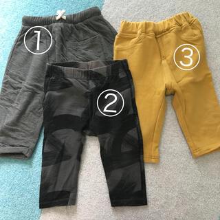 ザラキッズ(ZARA KIDS)のベビーレギンス クロップド丈 3枚セット(パンツ)