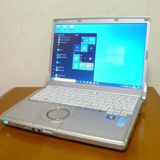 パナソニック(Panasonic)の大人気レッツノート 高速SSD250G 第2世代i5搭載 メモリ大容量8G(ノートPC)