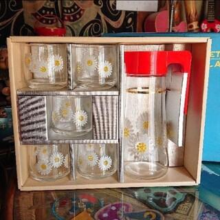昭和レトロ アデリア グラスウェア セット(食器)