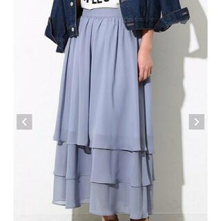 ViS - お値下げ♡vis ロングスカート マキシスカート フリーサイズ 水色