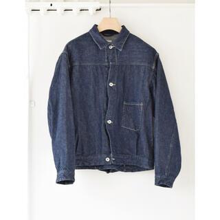 COMOLI - COMOLI 21SS デニムジャケット ネイビー サイズ2 新品