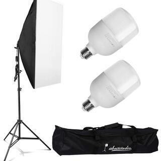 Abeststudio 2x 25W LED連続照明キット撮影用