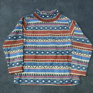 シマムラ(しまむら)のフリース ハイネックトップス 110cm(Tシャツ/カットソー)