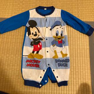 ディズニー(Disney)のミッキーマウス ロンパース 80(ロンパース)