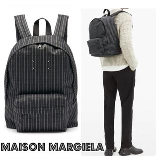 Maison Martin Margiela - ☆☆MaisonMargiela☆☆   ピンストライプ バックパック 未使用