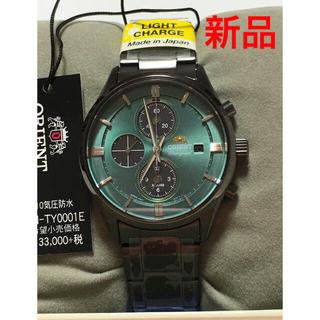 オリエント(ORIENT)のオリエントORIENT コンテンポラリー クロノグラフLIGHT CHARGE(腕時計(アナログ))