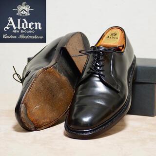 Alden - Alden 9.5E オールデン コードバン プレーントゥ 9901