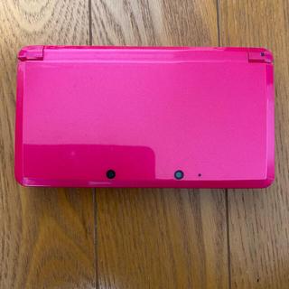 ニンテンドー3DS - 任天堂3DS グロスピンク