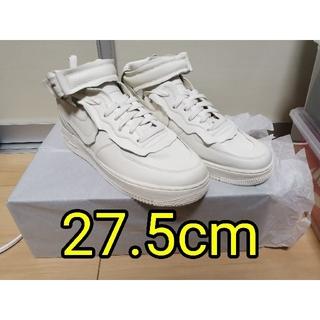 COMME des GARCONS - 【新品/未使用】【27.5cm】NIKE コムデギャルソン AF1 ホワイト