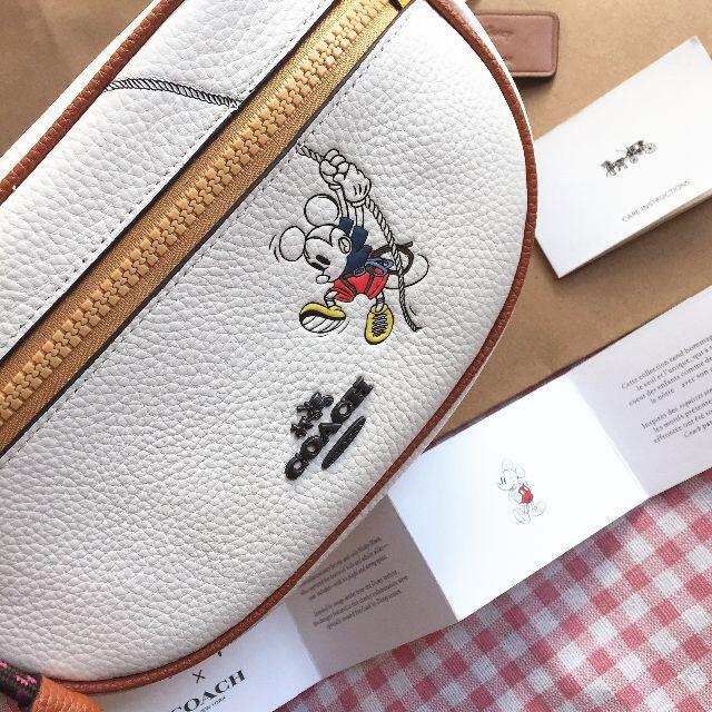 COACH(コーチ)のコーチ/COACHバッグ ウエストポーチバッグ 3747 ディズニーコラボ レディースのバッグ(ボディバッグ/ウエストポーチ)の商品写真