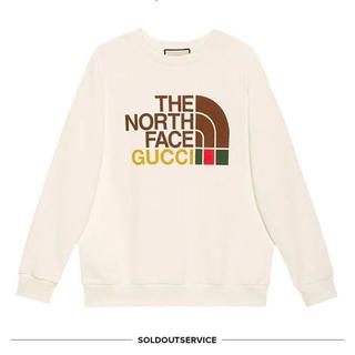 Gucci - GUCCI ノースフェイス トレーナー