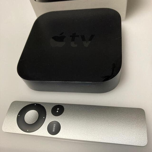Apple(アップル)のApple TV アップルテレビ 第3世代 箱なしセット リモコン美品! スマホ/家電/カメラのテレビ/映像機器(その他)の商品写真