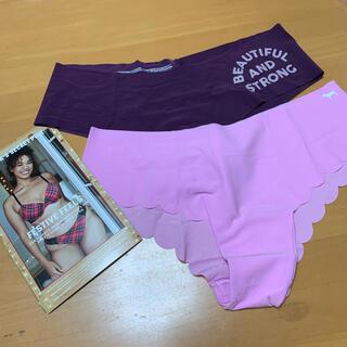 ヴィクトリアズシークレット(Victoria's Secret)の格安‼️最新♡シームレスタイプショーツ VS pink Mサイズ♡新品(ショーツ)