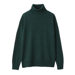 MUJI (無印良品) - 《新品》無印良品タートルネックセーター