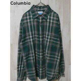 Columbia - コロンビアのチェックシャツ/ Lサイズ