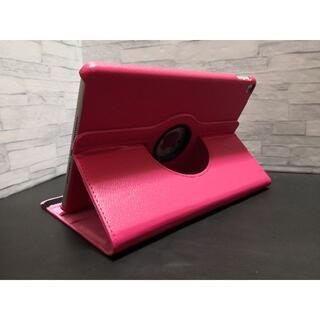 新型 iPad 第8世代 10.2インチ ローズピンク 360度回転 ケース(iPadケース)