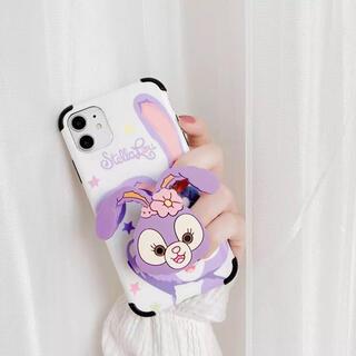 ステラルー(ステラ・ルー)の新品 iPhone8 ステラルー スマホケース ディズニー ポップソケット (iPhoneケース)