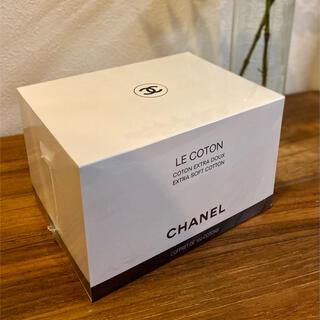 シャネル(CHANEL)のCHANEL LE COTON シャネル ロゴ入りオーガニックコットン100枚入(コットン)
