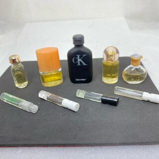ジバンシィ(GIVENCHY)のジバンシー、クリニークハッピー、エルメスなどミニ香水9個セット!ユーズド(香水(女性用))